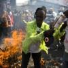 Manifestations contre le résultat de la présidentielle en Haïti