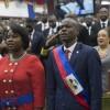 Installation de Jovenel Moïse comme président d'Haïti
